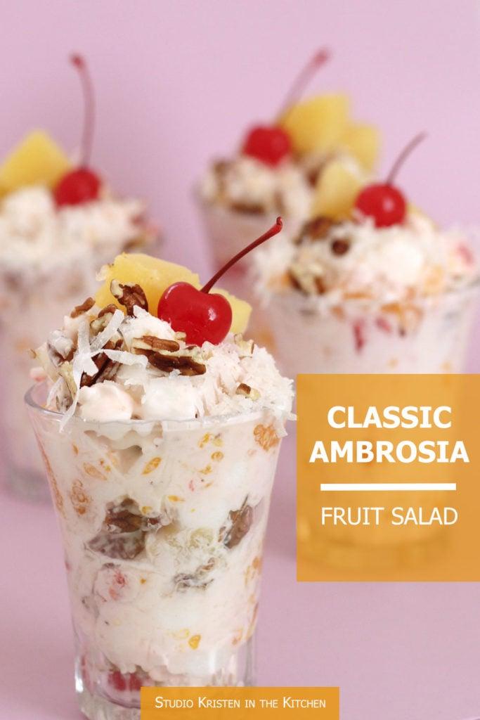 Classic Ambrosia Fruit Salad