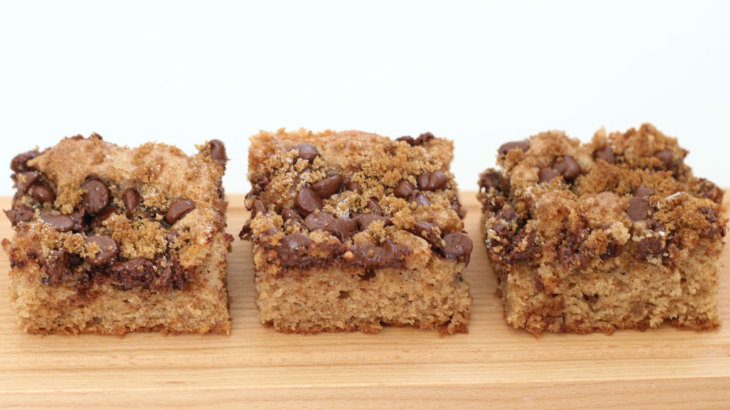 Sour Cream Coffee Cake with Chocolate Chips